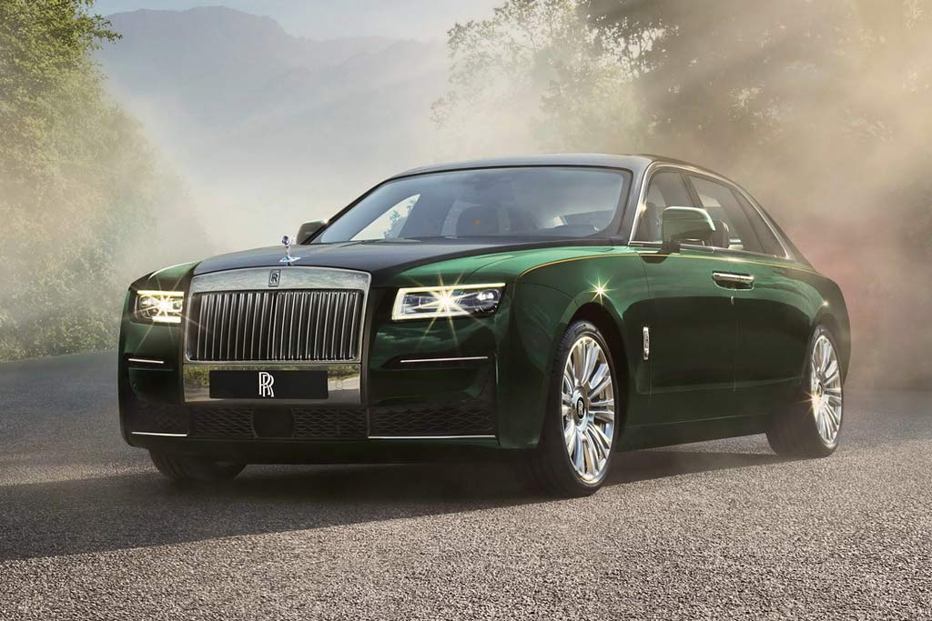 Rolls-Royce Ghost Extended LWB