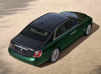 Rolls-Royce Ghost Extended LWB