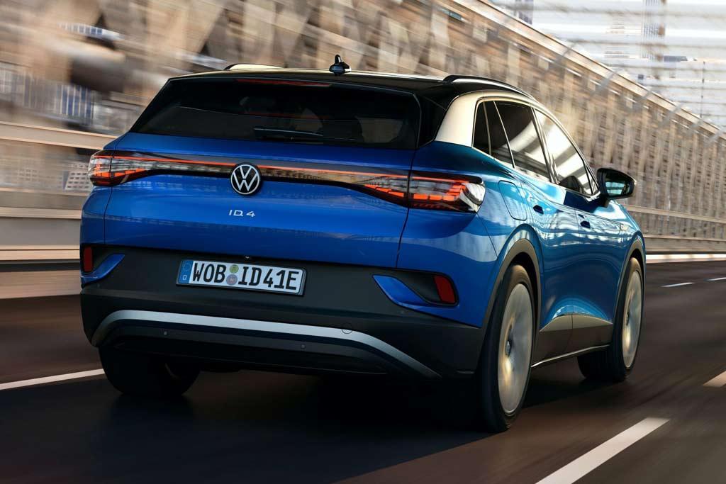Volkswagen ID.4: первый электрический кроссовер немецкой марки