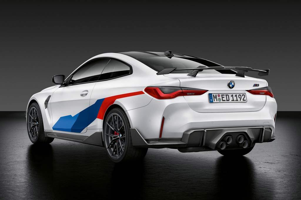 Новые BMW M3 и M4 обзавелись богатым набором аксессуаров M Performance