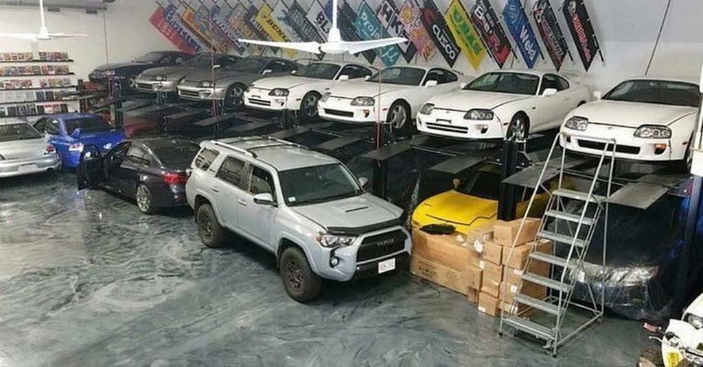 Коллекция спорткаров наркокурьера из США