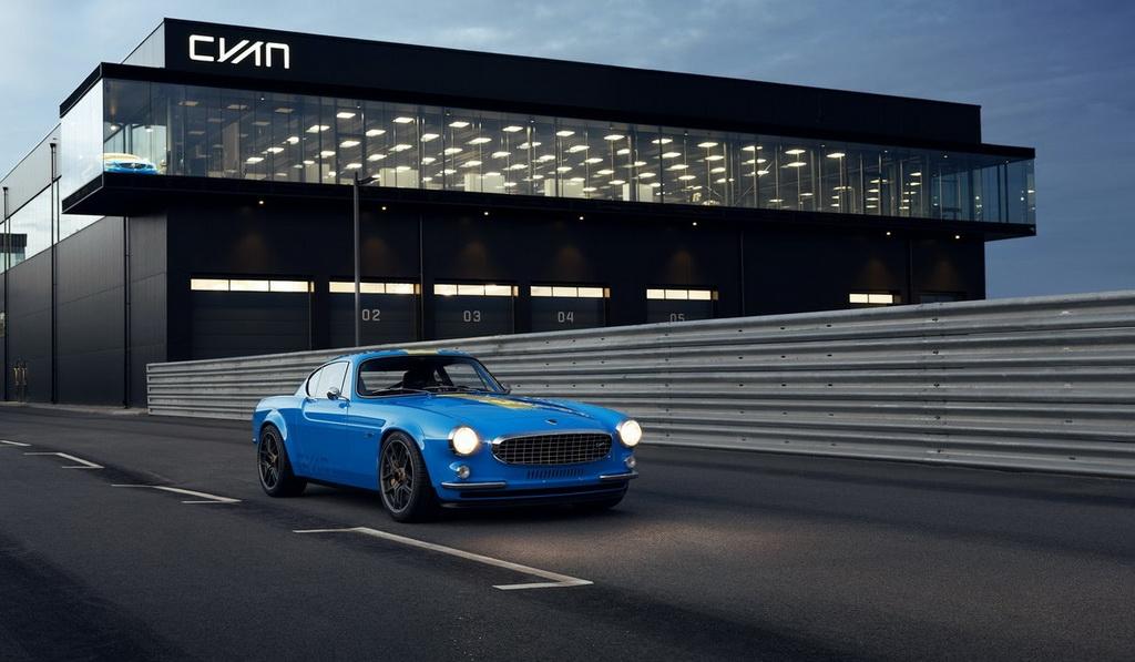 Ретро-купе Volvo P1800 Cyan: реинкарнация классического шведского спорткара