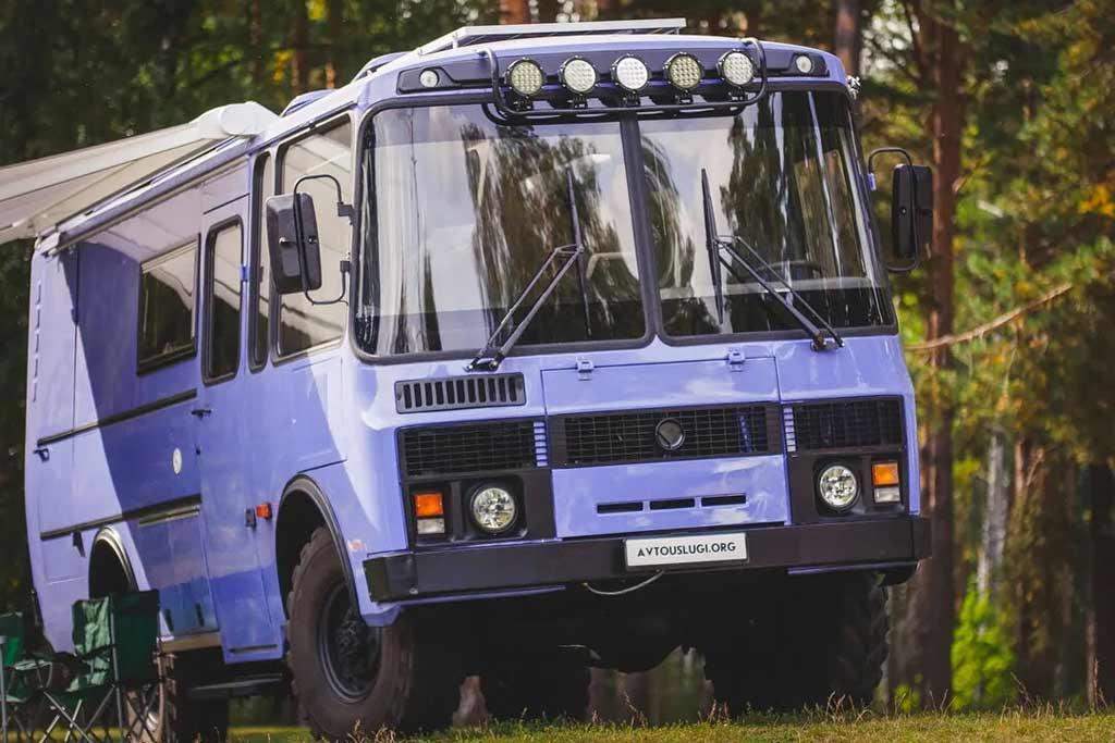 Автодом на базе ПАЗ-3206