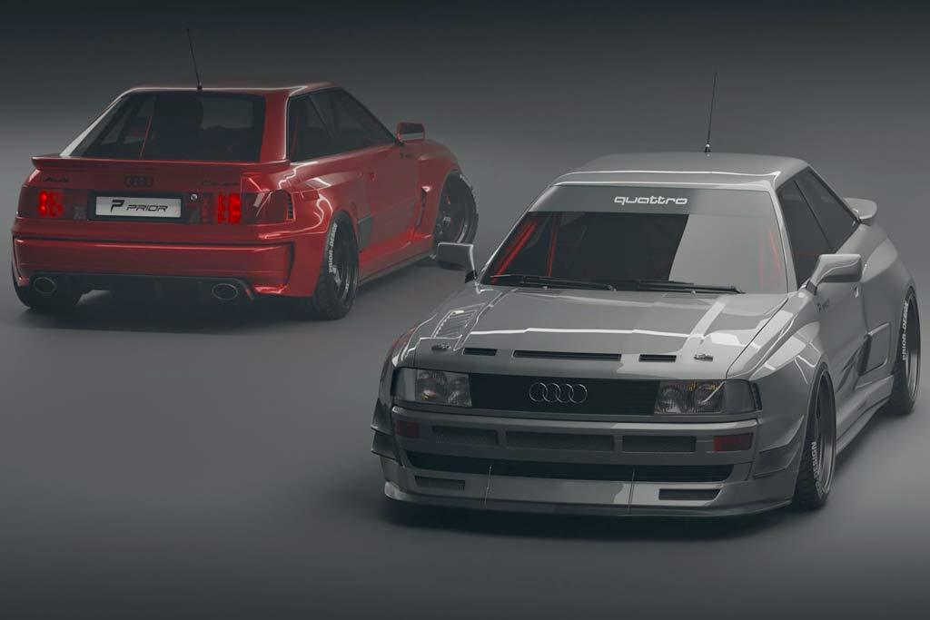 В ателье Prior Design готовят современную версию Audi RS2 Coupe
