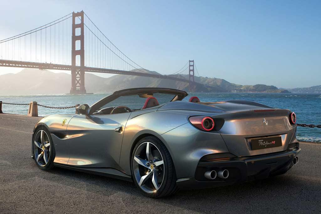 Ferrari Portofino M: модернизированная версия купе-кабриолета