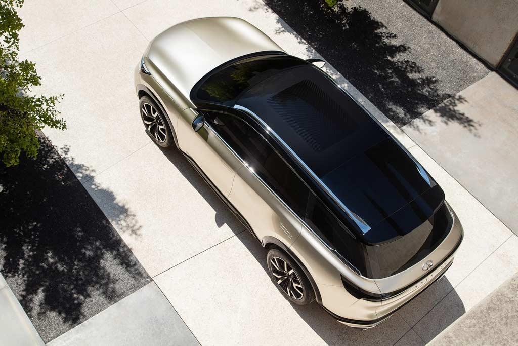 Новый прототип Infiniti пролил свет на дизайн кроссовера QX60 нового поколения