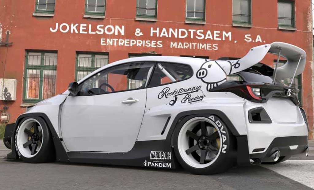 Rocket Bunny GR Yaris