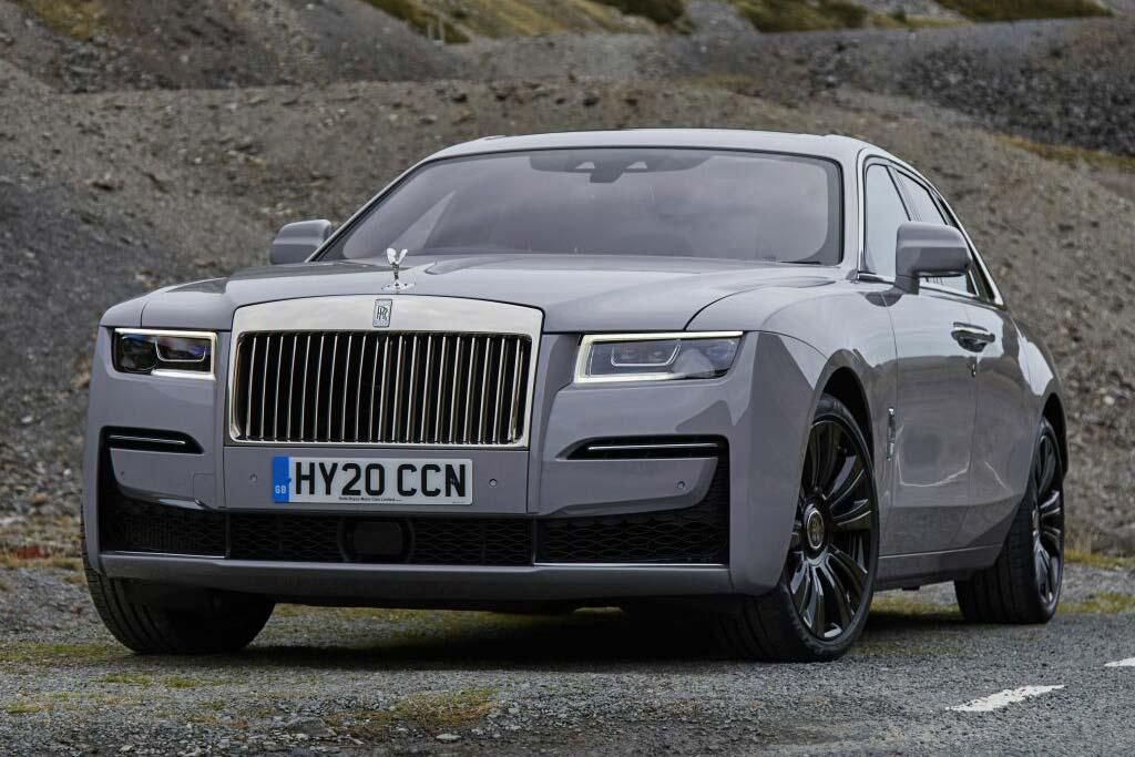 Новый Rolls-Royce Ghost 2021 года