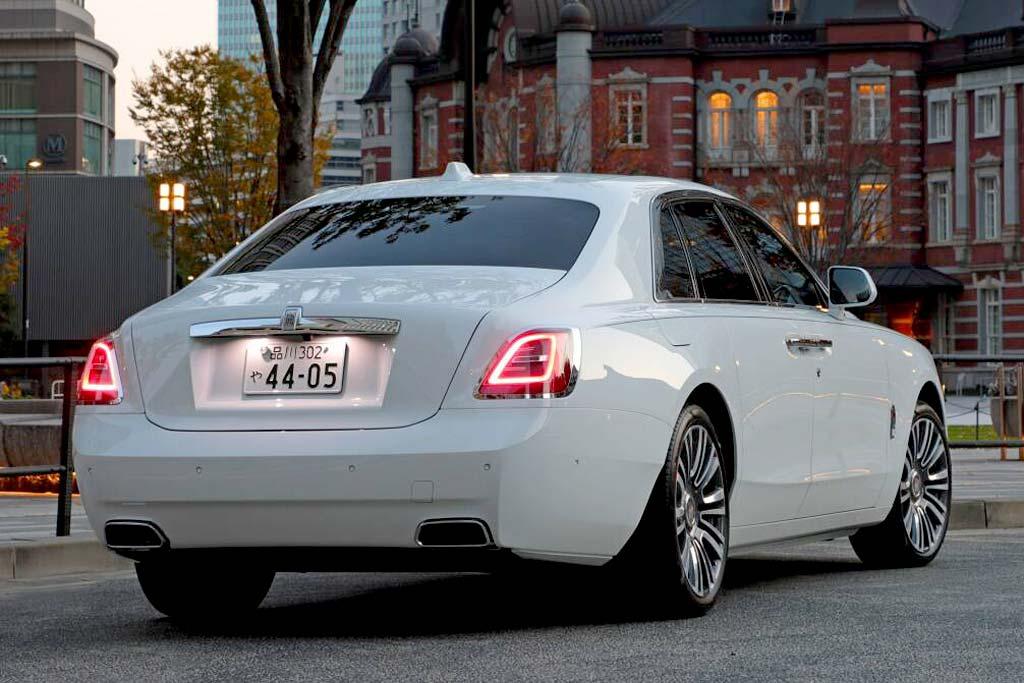 Rolls-Royce Ghost 2021 в новом кузове