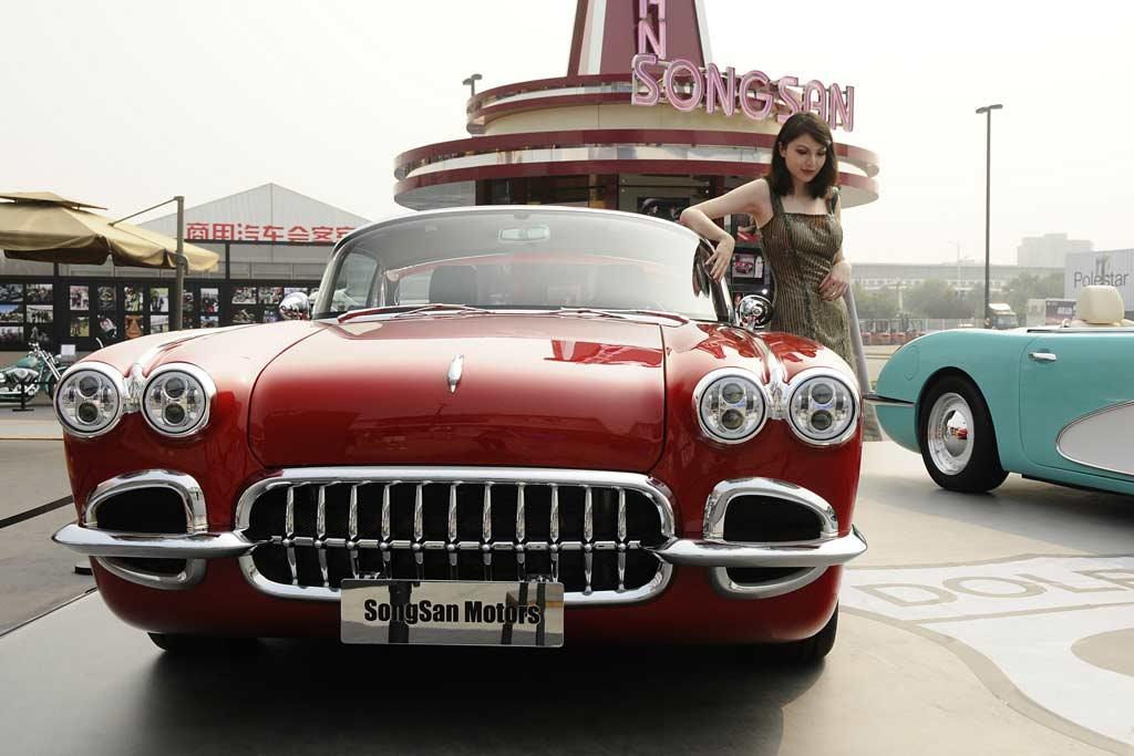 Американцы не возрождали классический Corvette C1: это китайский Songsan SS Dolphin