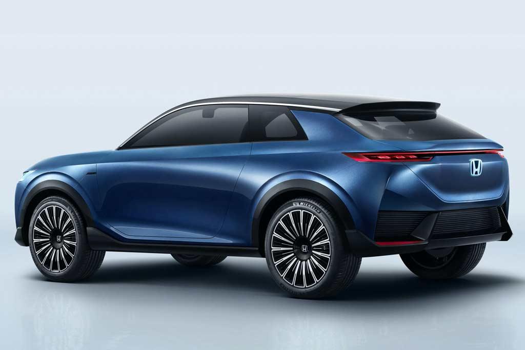 Honda готовит электрический кроссовер: пока анонсирован концепт