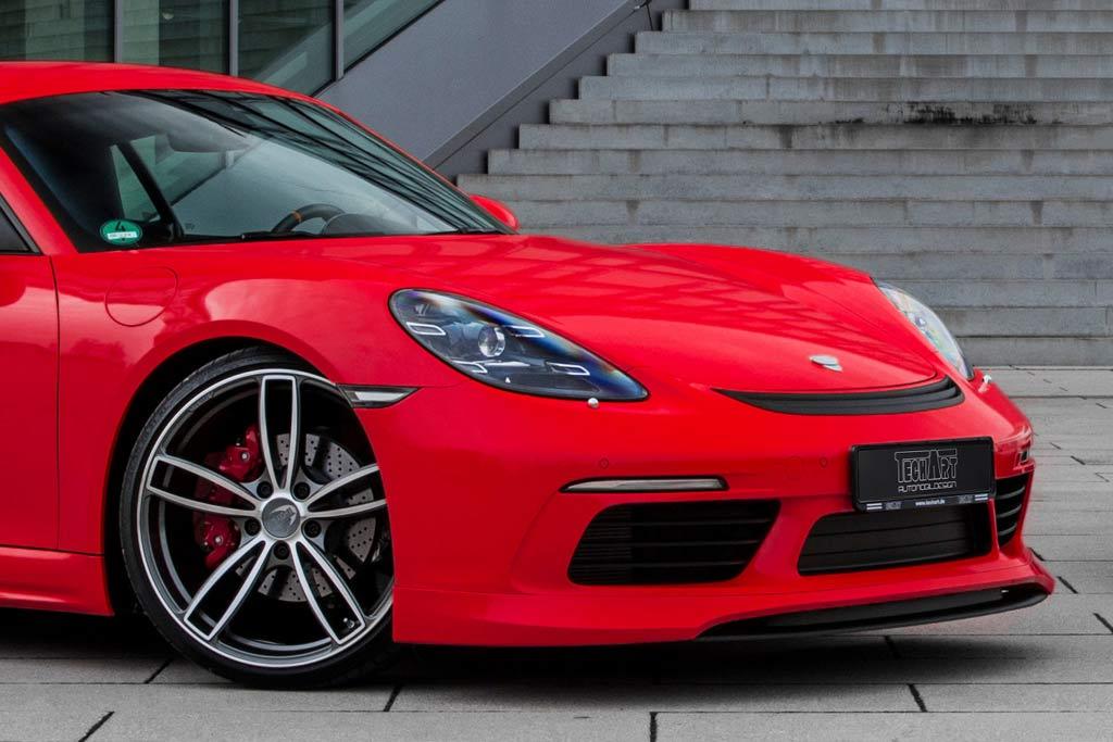 Porsche 718 Cayman обзавелся пакетом «GT Package» от ателье TechArt