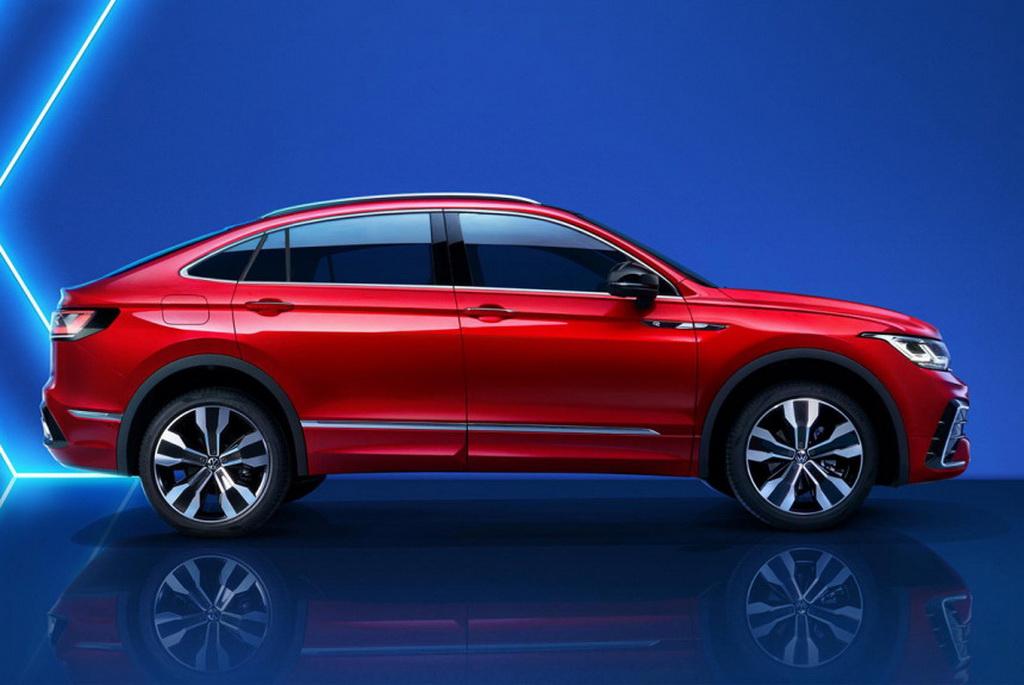 Представлен купеобразный Volkswagen Tiguan X: пока только для Китая