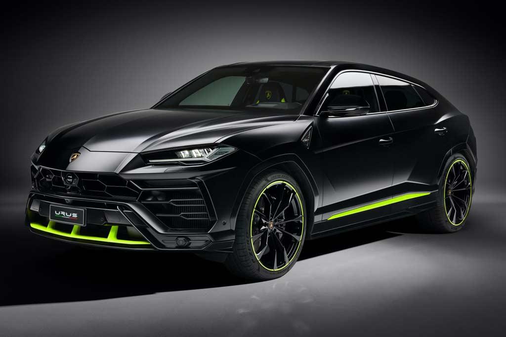 Lamborghini Urus обзавелся модным стайлинг-пакетом «Craphite Capsule»