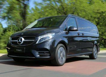 Mercedes V-Class для Китая
