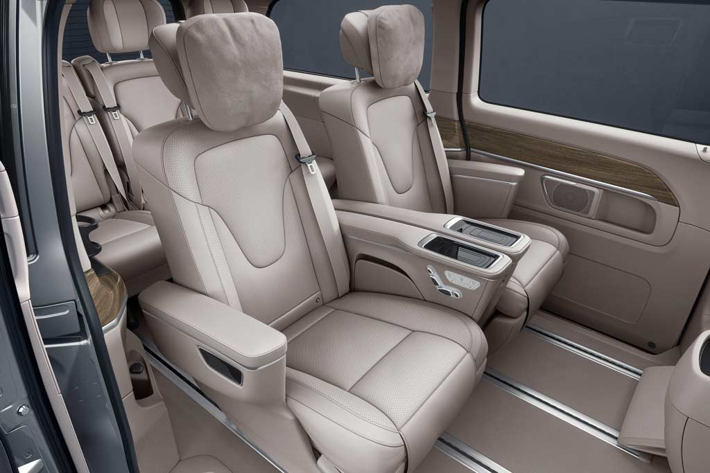 Mercedes-Benz V-Class 2021 для Китая: минивэн с особо комфортным салоном