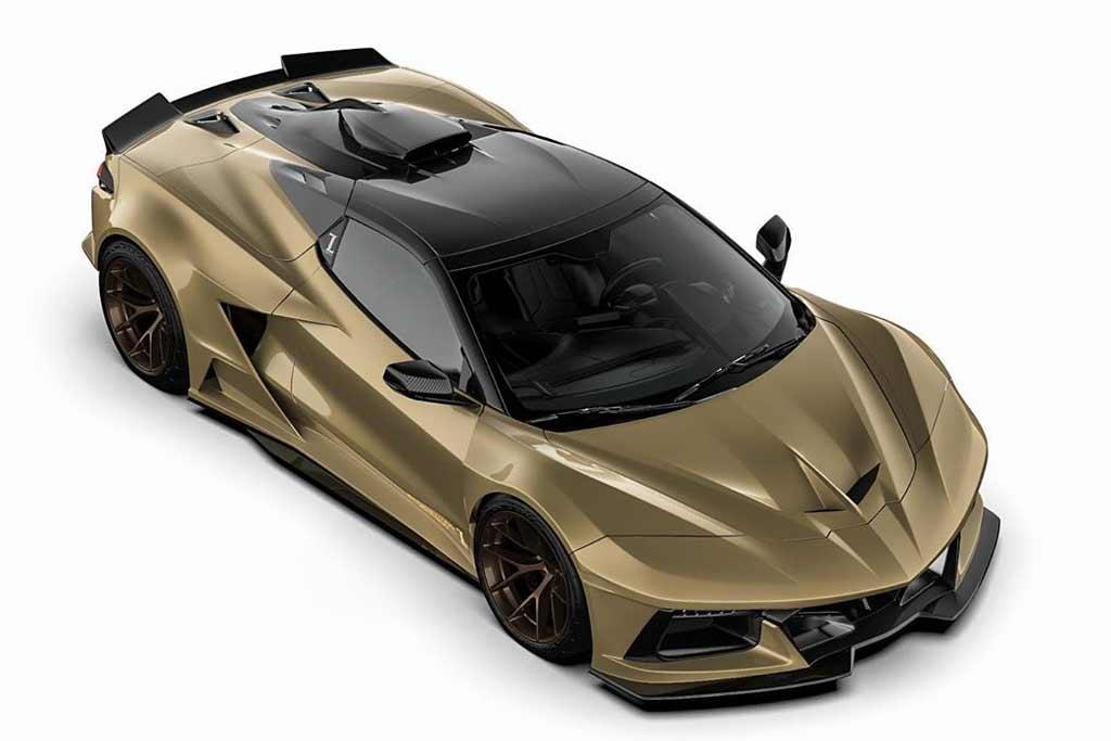 Для нового Corvette C8 подготовили агрессивный карбоновый обвес C8RR