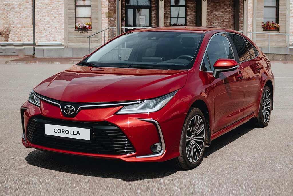 Купить Toyota Corolla 2021