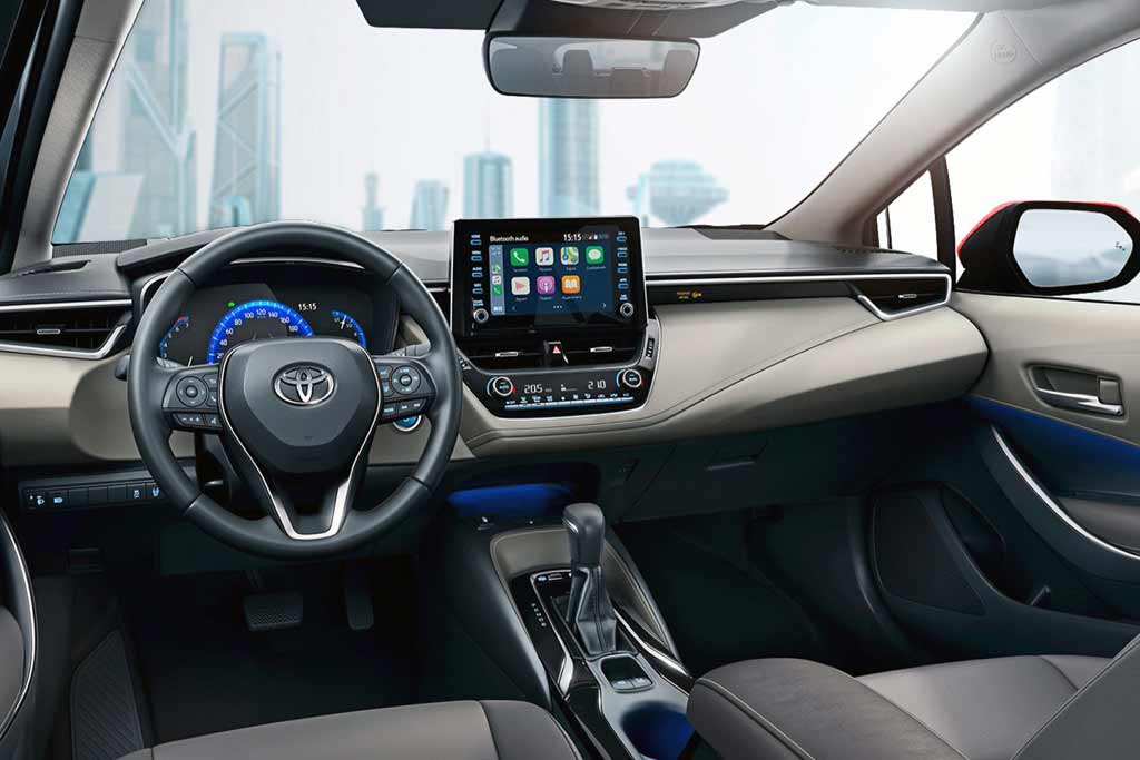 Салон Toyota Corolla 2020