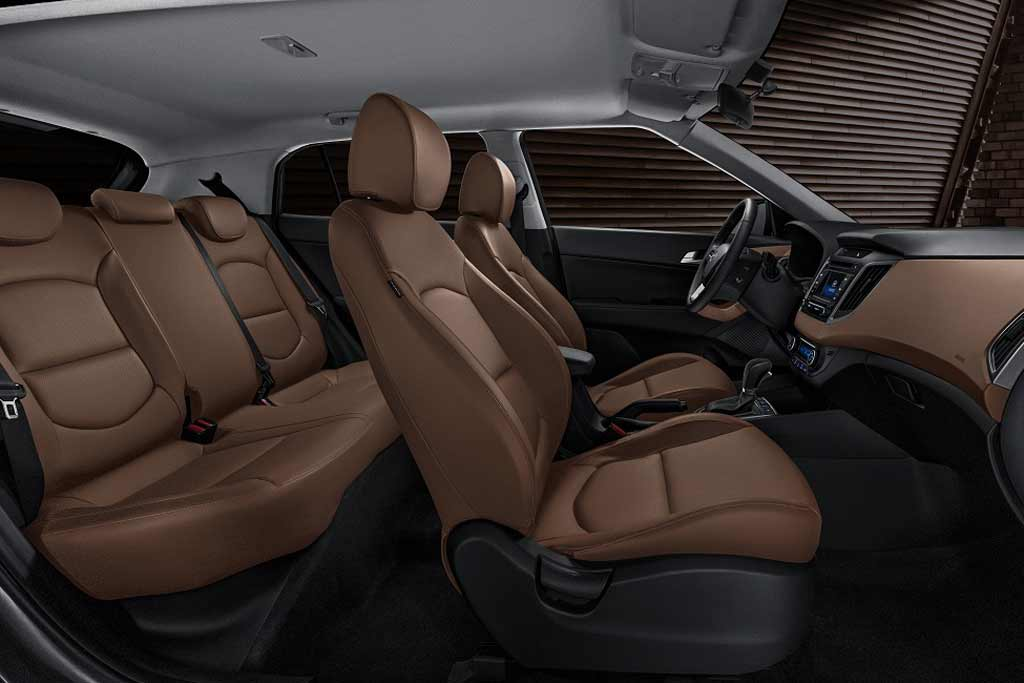 Hyundai Creta Black & Brown