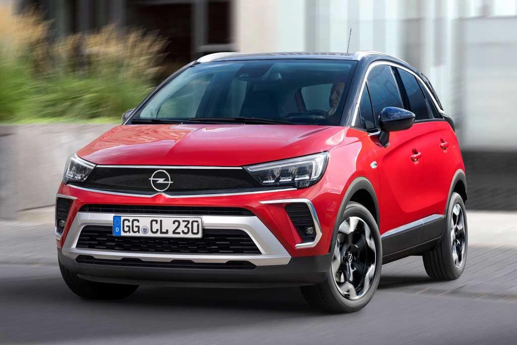 Еще один кроссовер Opel появится в России: знакомимся с новым Crossland