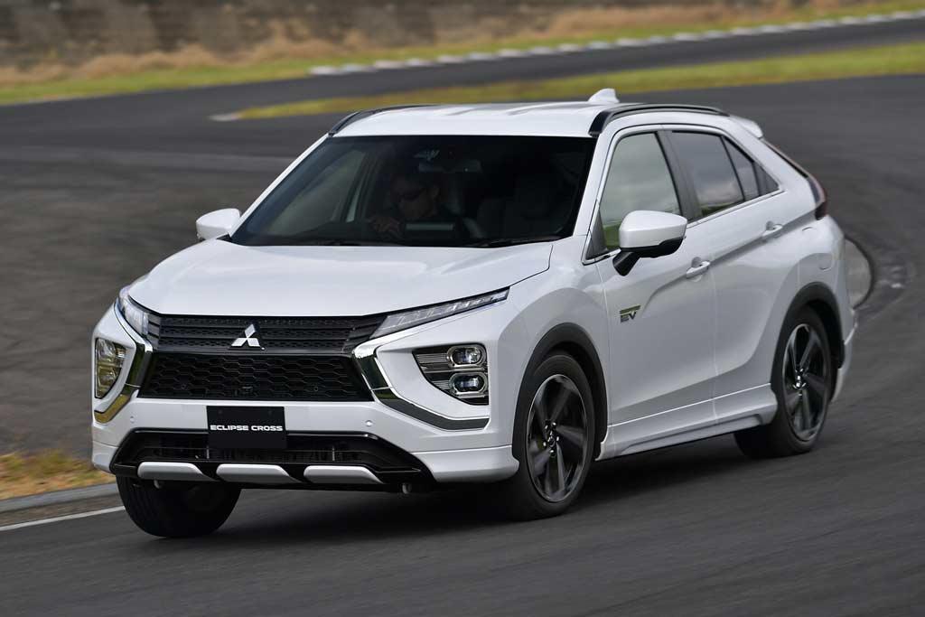 Mitsubishi Eclipse Cross 2021 года: плановый рестайлинг модного паркетника