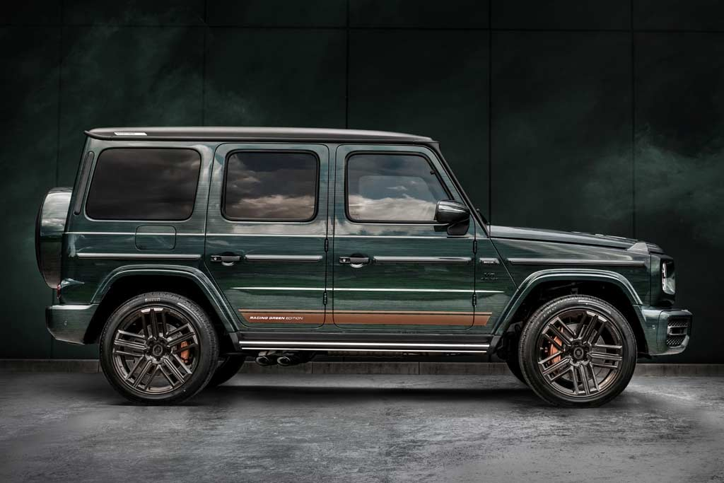 Carlex G-Wagon Racing Green