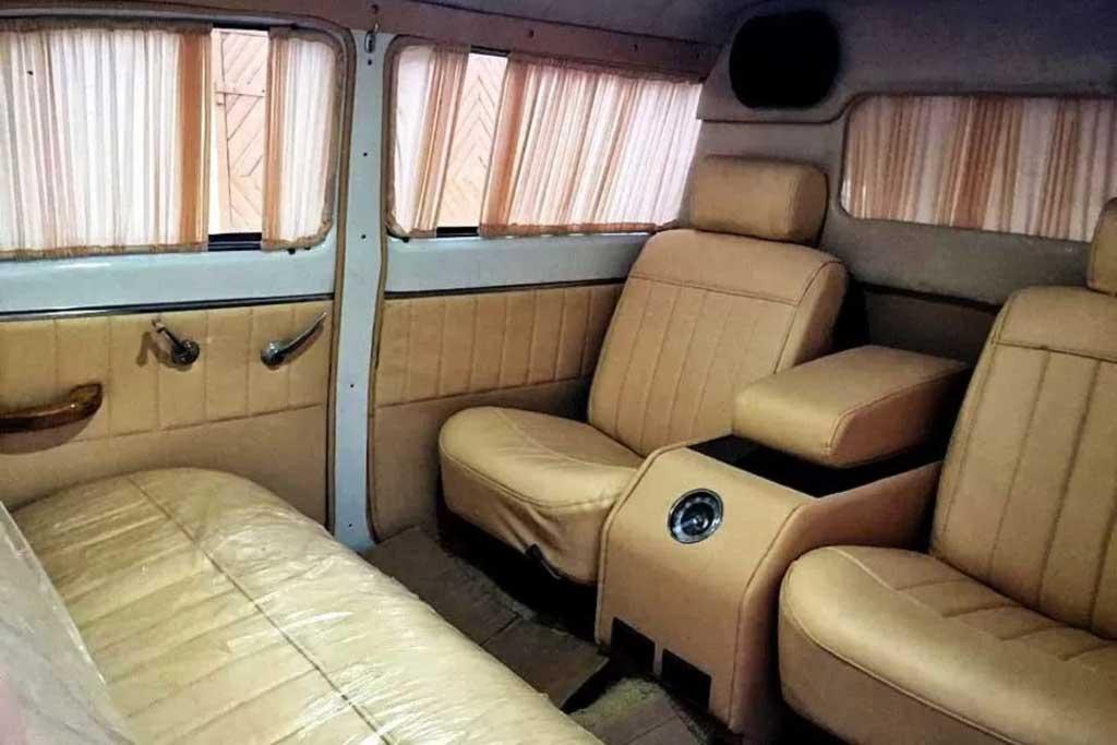 Вот это Волга: умелец переделал ГАЗ-21 в полноценный лимузин