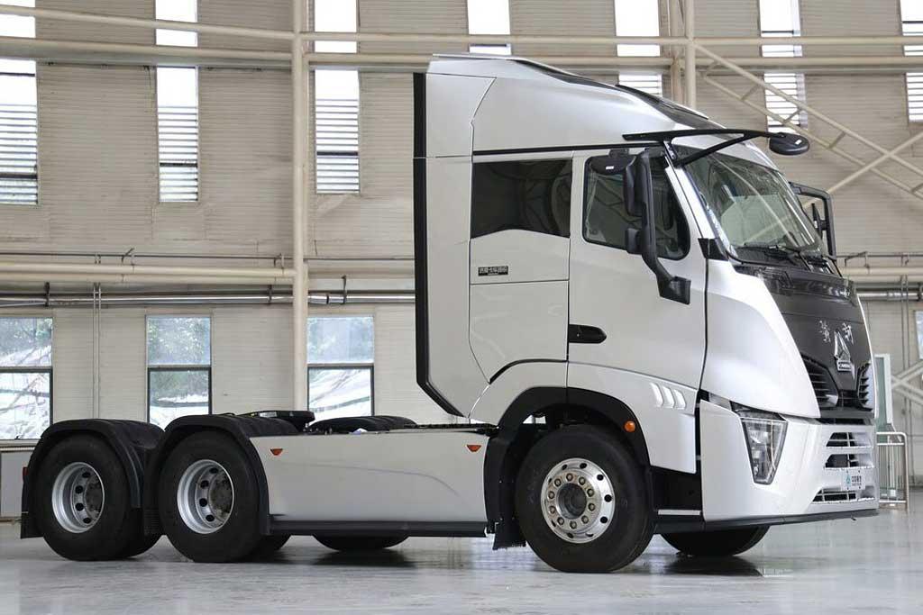 Представлен тягач Huanghe X7: китайский грузовик с самой обтекаемой кабиной