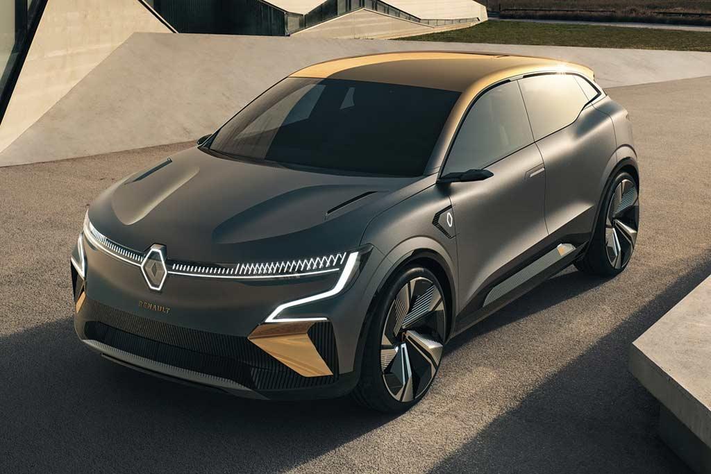 Renault Megane eVision: предвестник полностью электрического Мегана