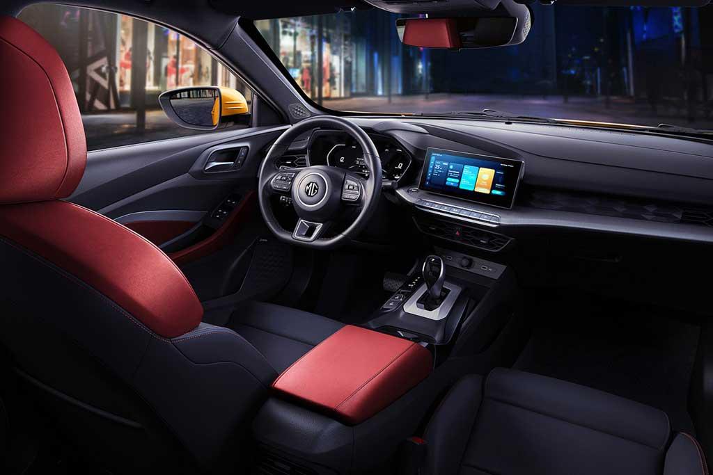 Фастбек MG 5 2021 продемонстрировал новый дизайнерский стиль марки