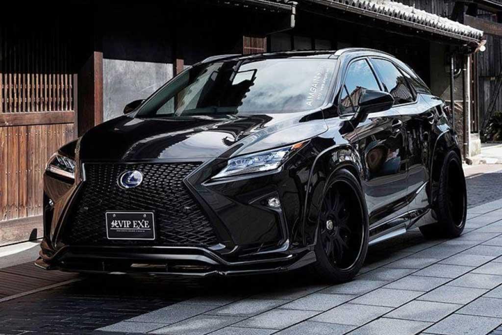Lexus готовит RX нового поколения: в гамме появится версия RX500h