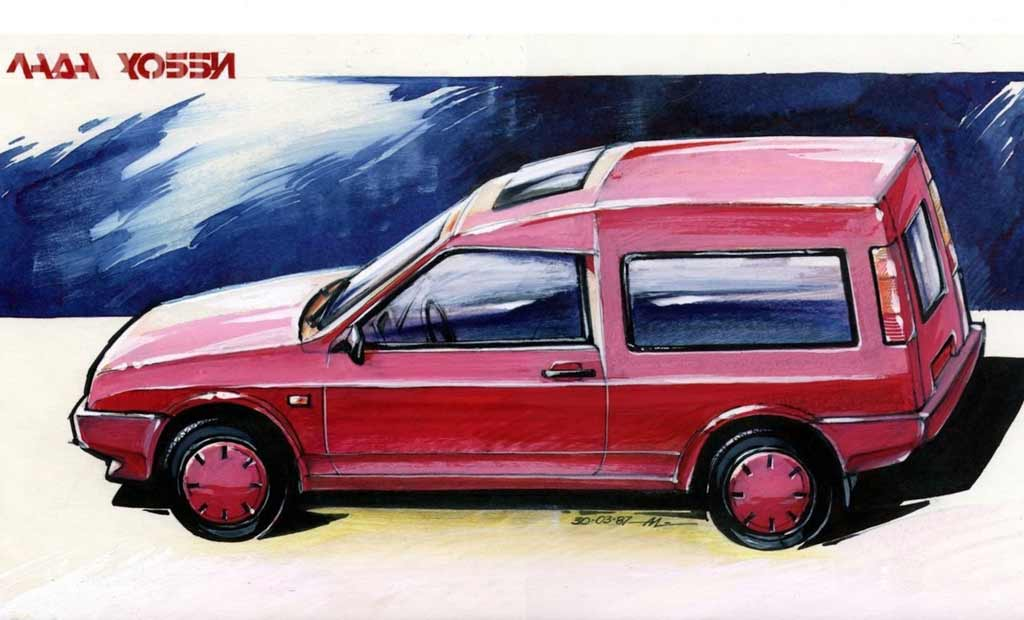 Lada Samara в кузове универсал: почему она так и не появилась
