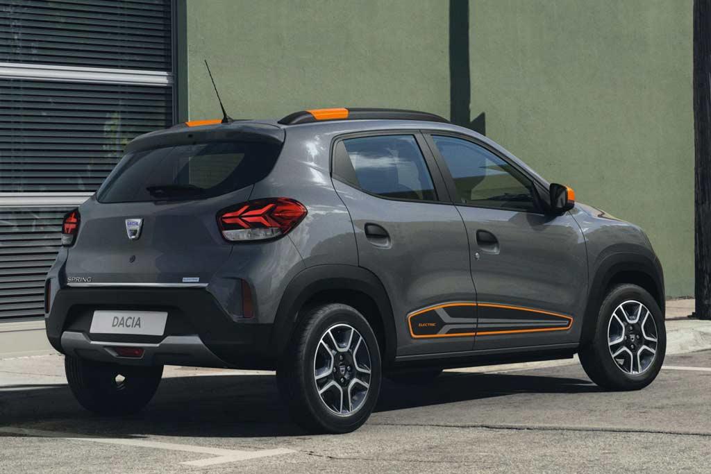На радость европейцам: компактный электрокар Dacia Spring Electric