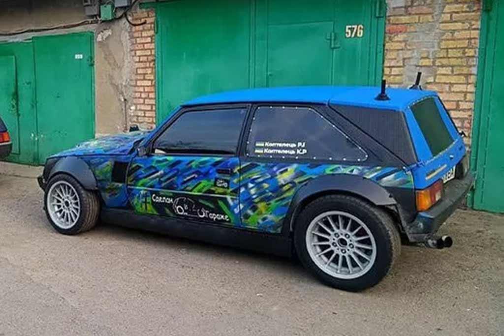 Таврия с мотором BMW