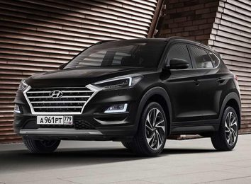 Hyundai Tucson Black & Brown