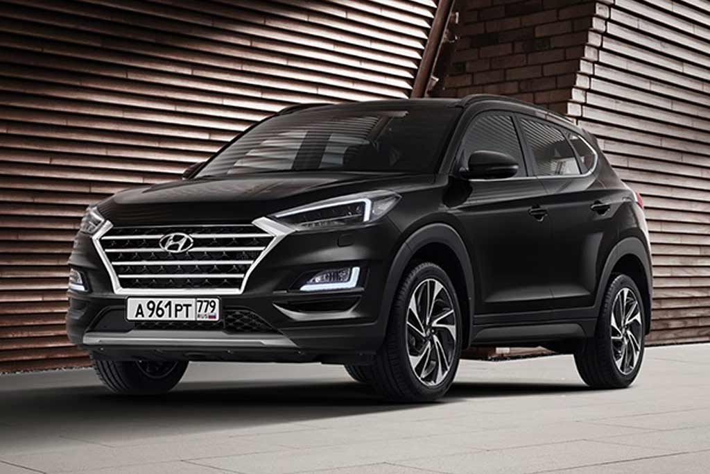 Hyundai Tucson Black & Brown