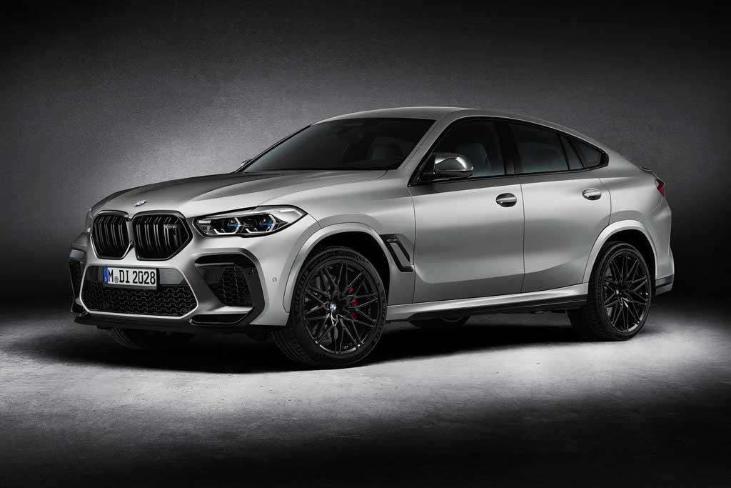 BMW X5 M и X6 M Competition получили лимитированное исполнение First Edition