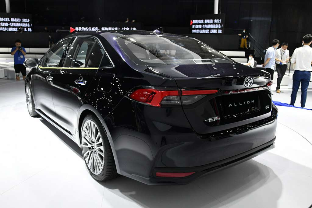 Toyota Allion 2021 нового поколения перестала быть эксклюзивом для Японии