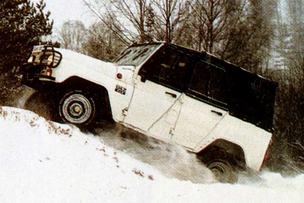 УАЗ-31512 Белая чума