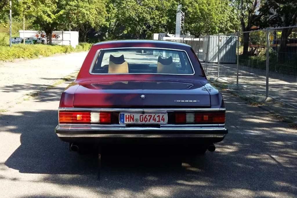 Вишневый ГАЗ-14 «Чайка» продается за 9,0 млн: когда-то принадлежала Брежневу
