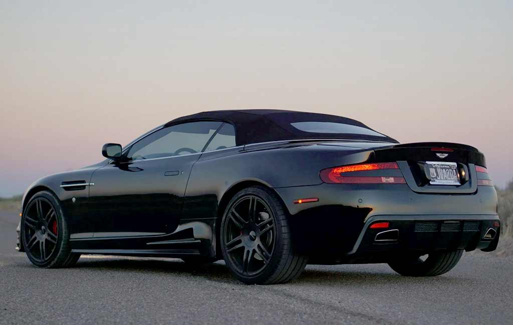 Обвес от Mansory не помог старому Aston Matrin DB9 Volante взлететь в цене