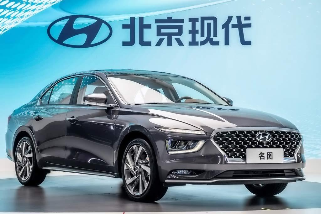 Седан Hyundai Mistra 2021 примерил передок в стиле последних кроссоверов марки