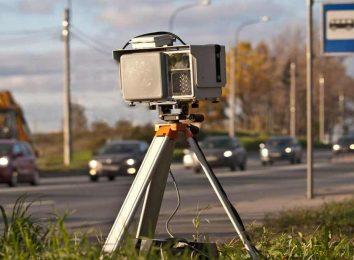 Камера фиксации скорости