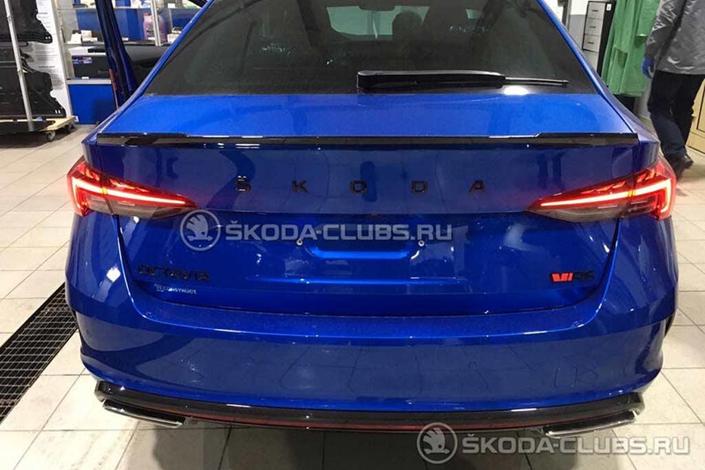 В России засветилась Octavia RS нового поколения: но это еще ничего не значит