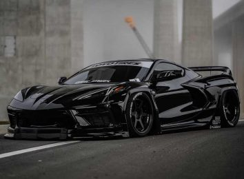 Rocket Bunny Corvette C8