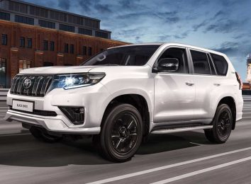 Land Cruiser Prado Black Onyx