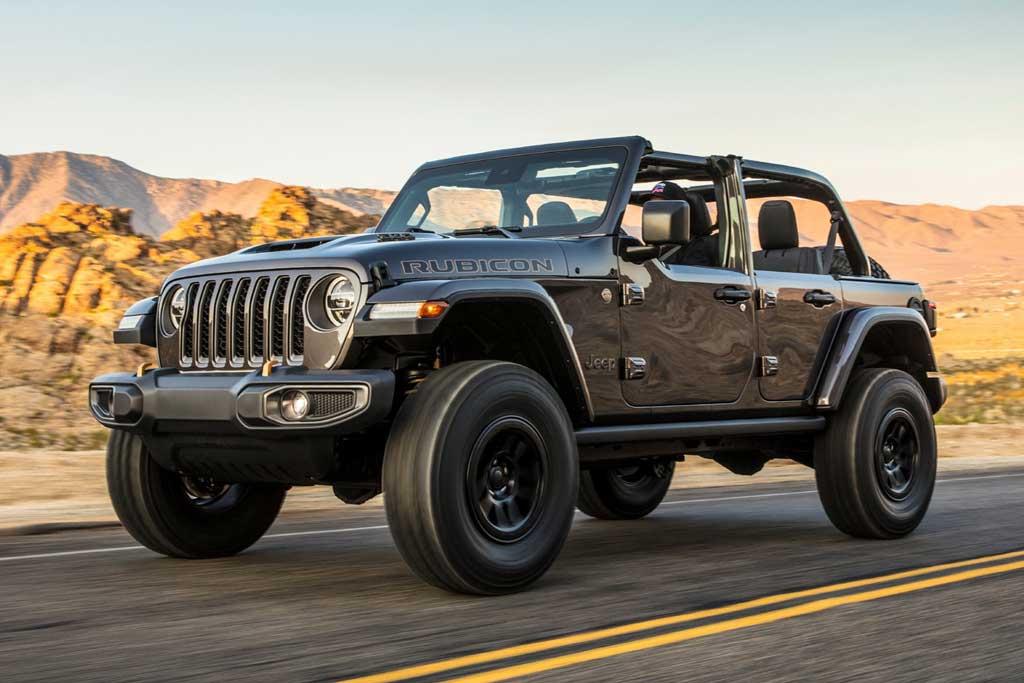Jeep Wrangler Rubicon 392: топовый вариант с V8 и разгоном 4,7 сек. до сотни