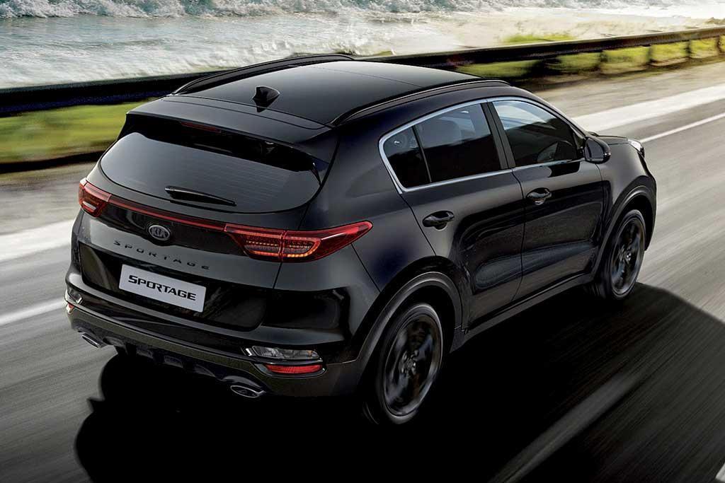 Черный-черный KIA Sportage Black Edition появился в России