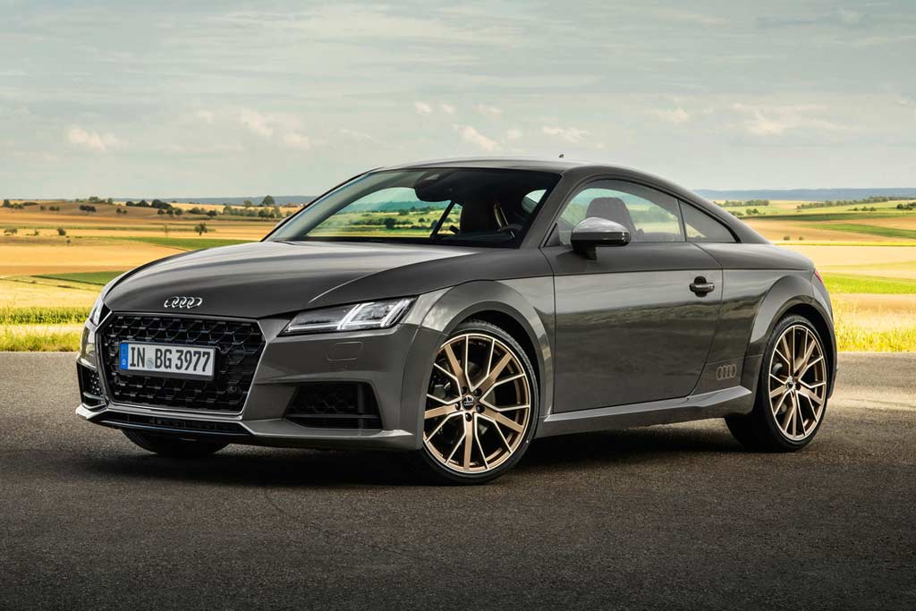 Audi TT Bronze selection